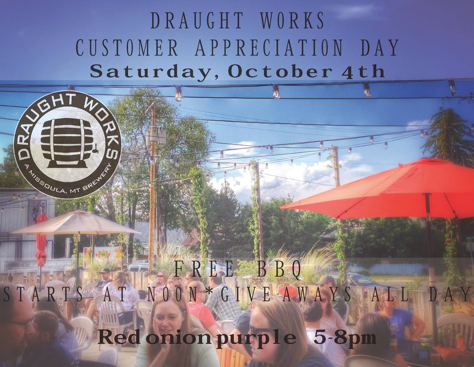 3rd Annual Draught Works Customer Appreciation Day