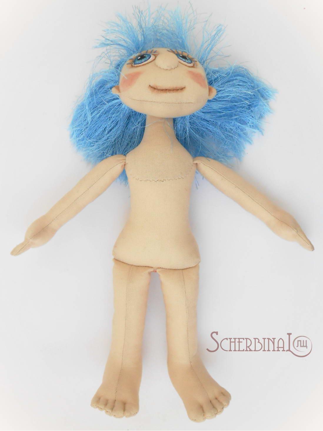 мастер-класс по изготовлению игровой текстильной куклы-карамельки Людмилы Щербина