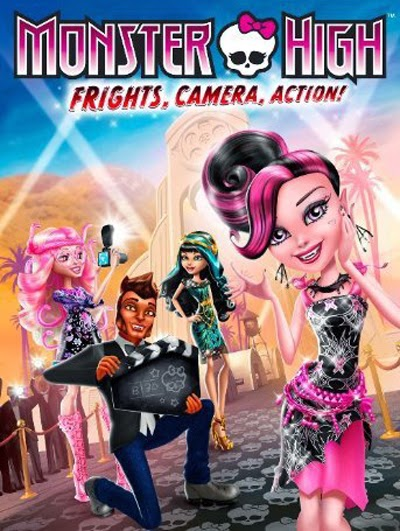 Monster High Frights, Camera, Action