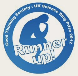 Runner up: Good Thinking Society Science Blog Prize 2012