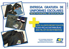 Guaraniaçu - 1200 ALUNOS Beneficiados com UNIFORMES