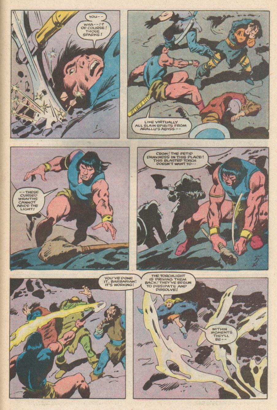 Conan the Barbarian (1970) Issue #169 #181 - English 22