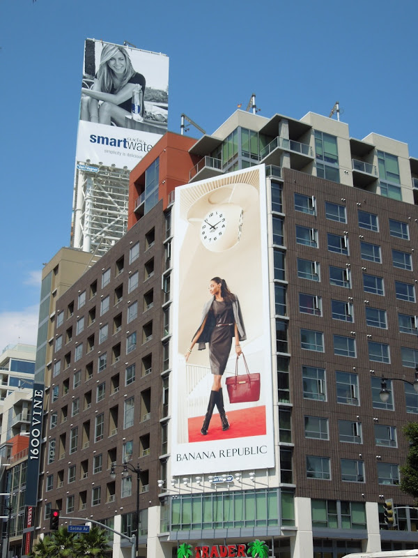 Banana Republic FW 2012 billboard