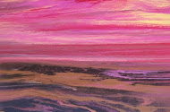 Reflections of a Pink Sky II-24x36x7/8 Gallery Wrapped Canvas