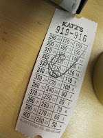 Katz's Delicatessen New York City Lower East Side Lunch Receipt
