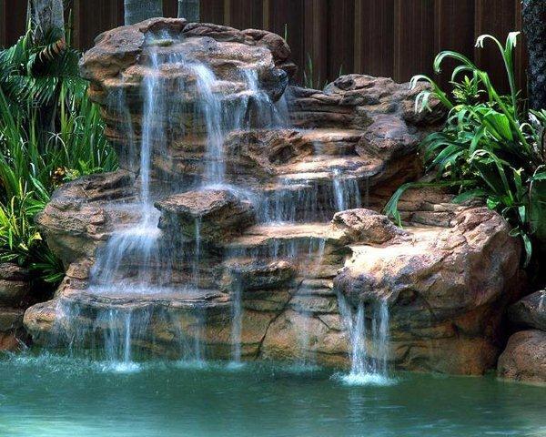 Cascada artificial para jardin imagui for Cascadas artificiales para jardin