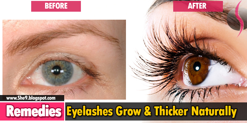 3 Best Ways To Grow Eyelashes Thicker And Longer Naturally She9