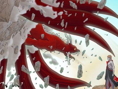 Naruto Kyubi Ekor 8