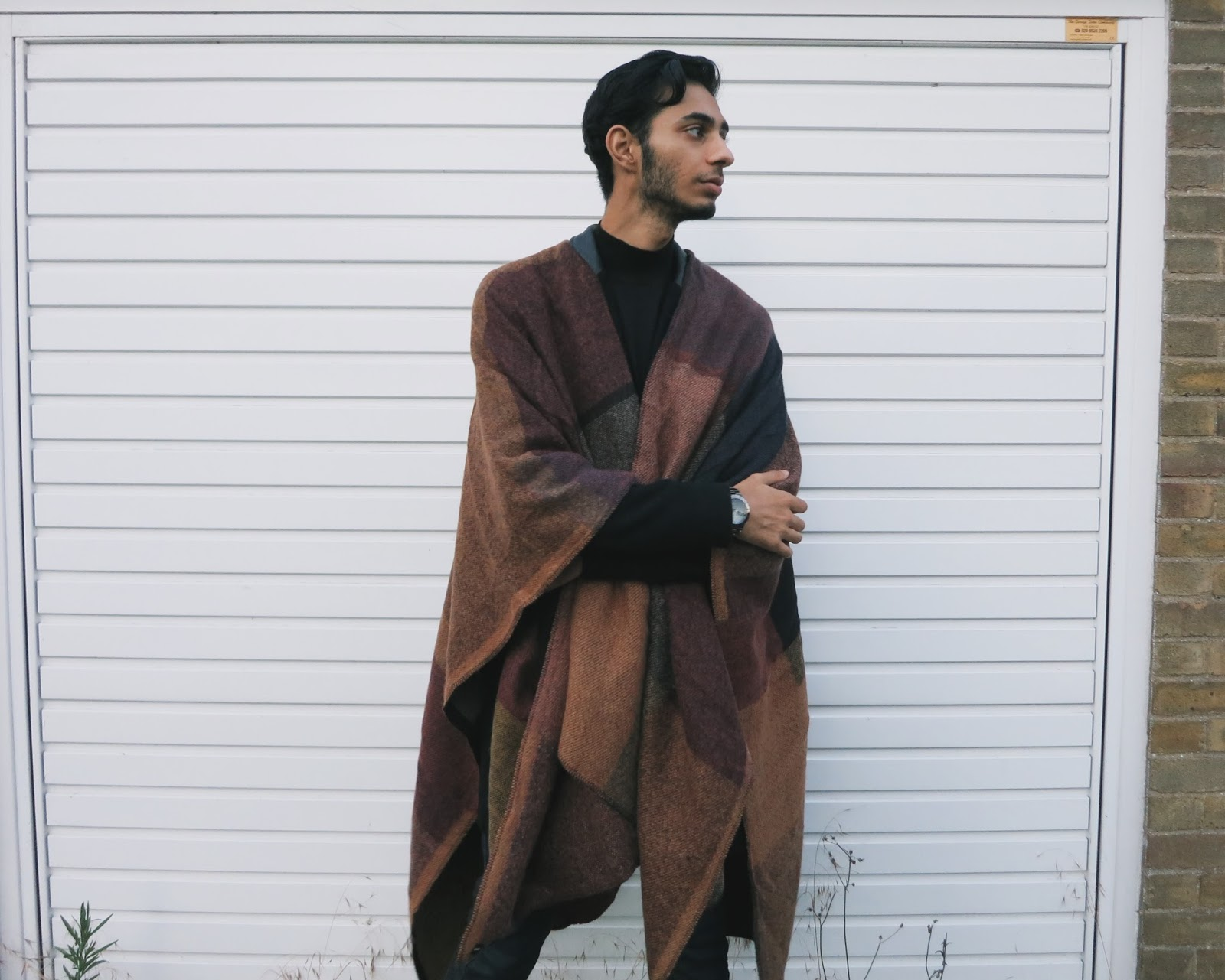 mens capes asos
