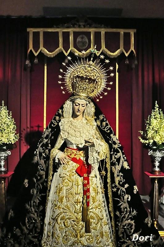 Besamanos a Nuestra Señora del Mayor Dolor y besapies al Santísimo Cristo de las Aguas, Las Aguas