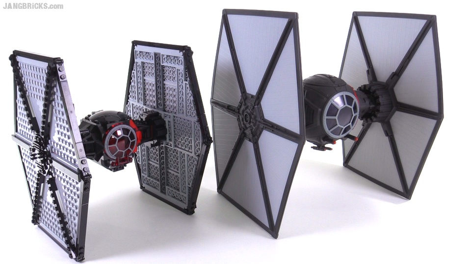 lego vs hasbro wars tfa order tie fighter