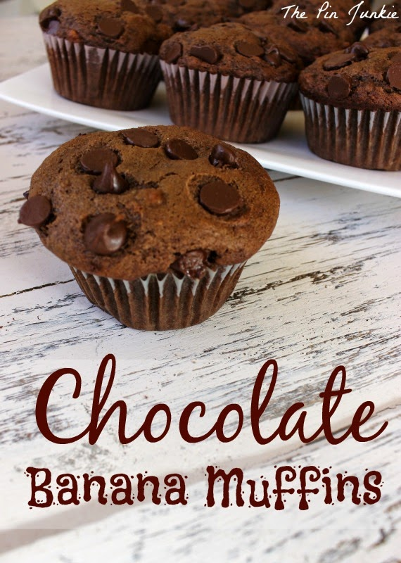 chocolate-banana-muffin recipe