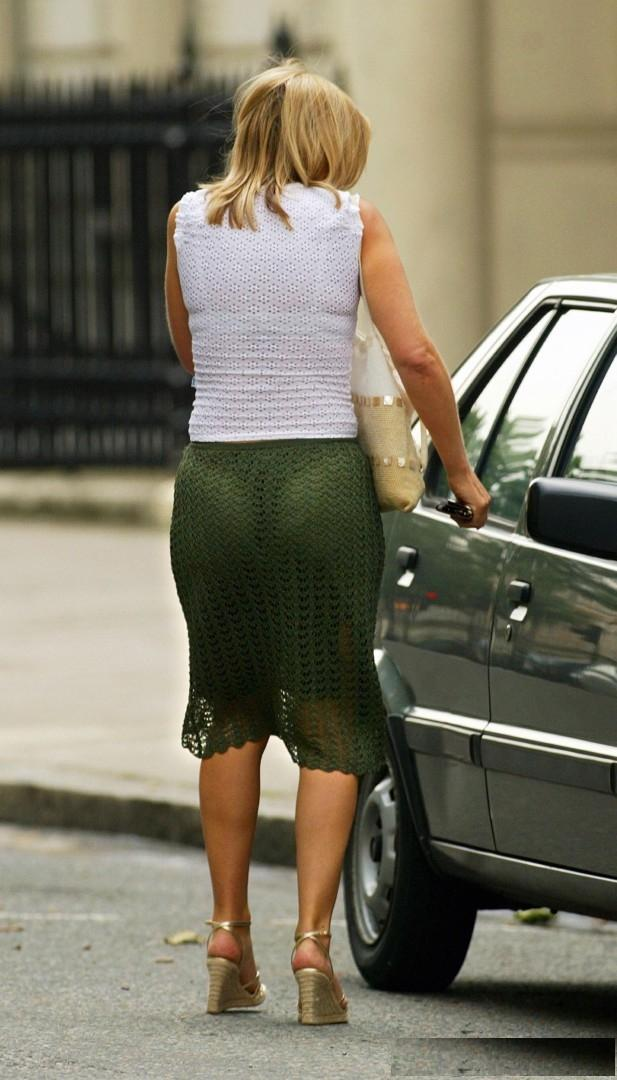 Penny Smith See Throught Thong