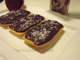 Pastelitos de naranja y chocolate
