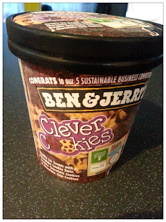 Ben and Jerry's Clever Cookies