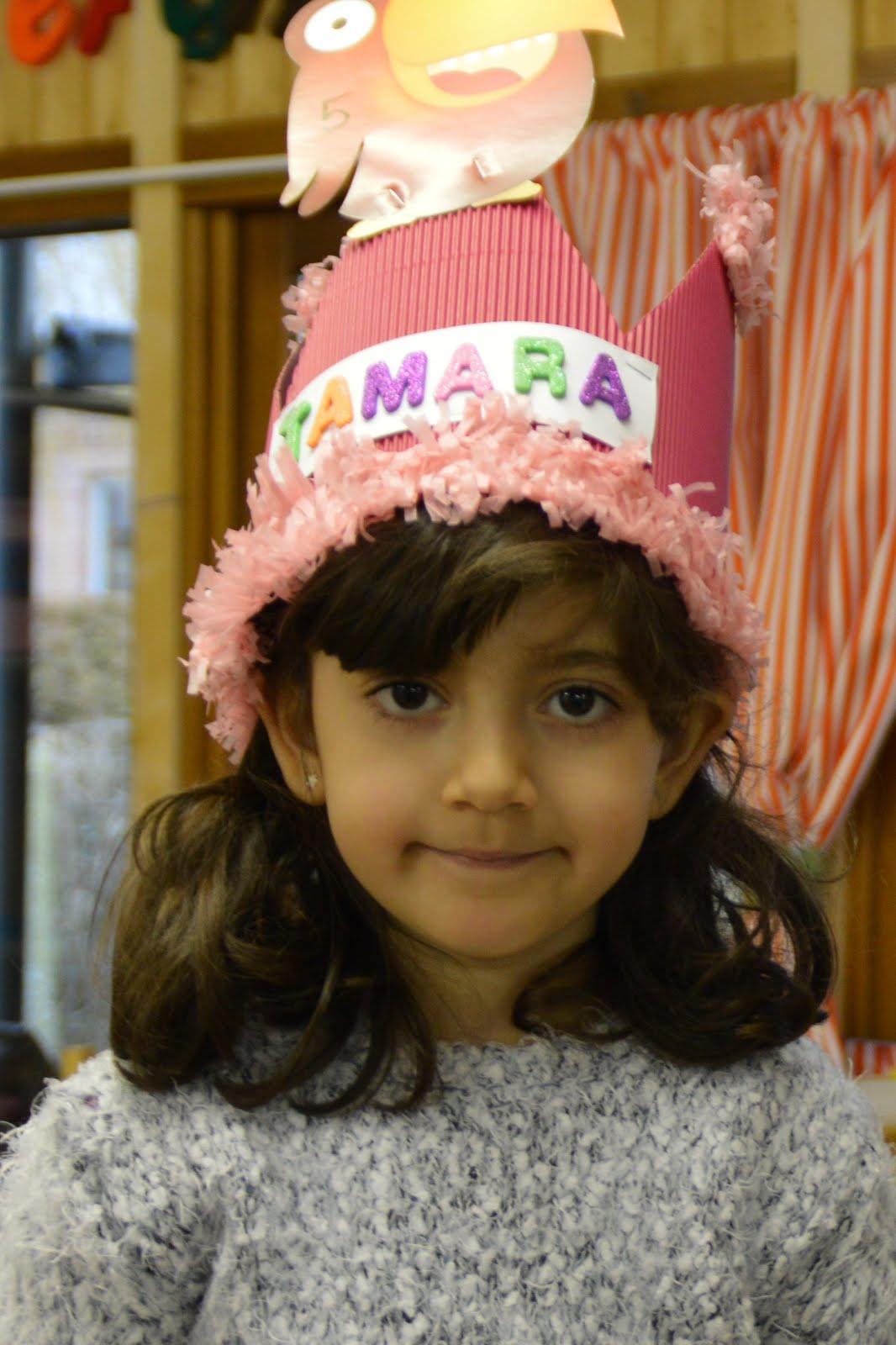 Tamara is 5!