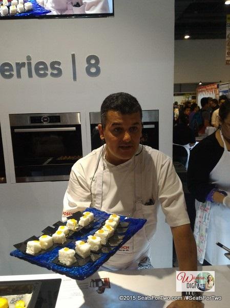 Chef Jean-Charles Dubois