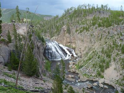 Madison river at Gibbons Falls