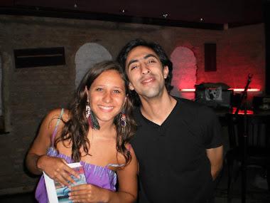 Con Diego Jáureguis