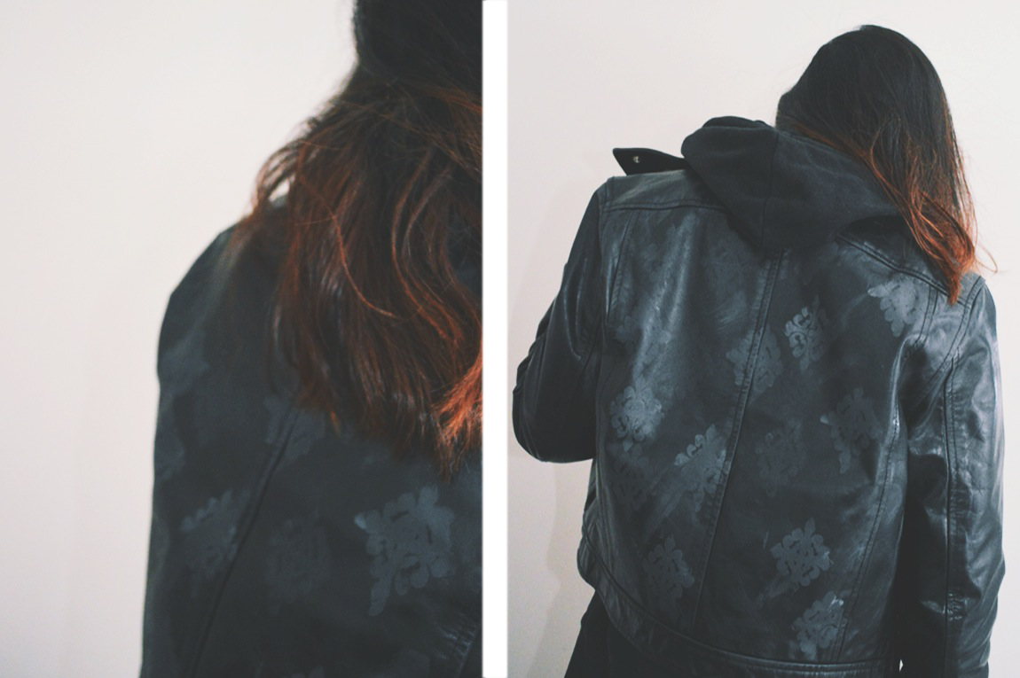 Leather jacket diy -  Vibe And The Subtle Aspect Of The Pattern I M Really Liking How This Turned Out It S Super Simple And Can Give Some Life To Any Leather Jacket