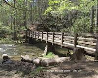 bridge over a creek