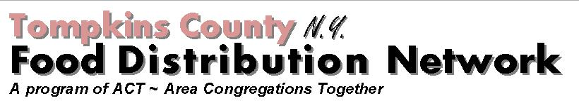 Tompkins County Food Distribution Network