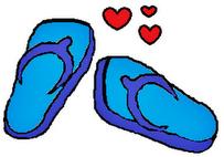Selipar Biru