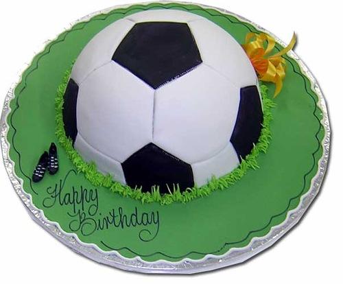 Торт пошаговый с футбольным мячом