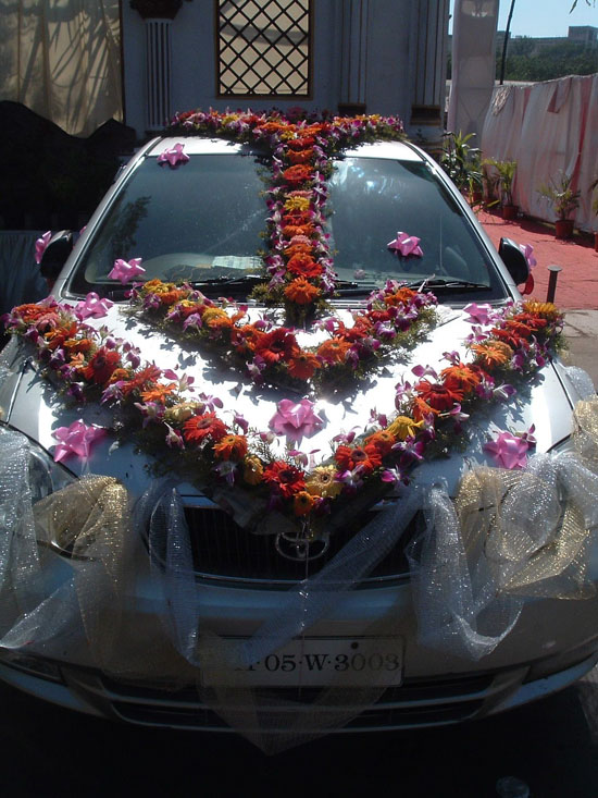 Decoration cars good image is loading with decoration cars amazing wedding cars decoration ideas with decoration cars junglespirit Image collections