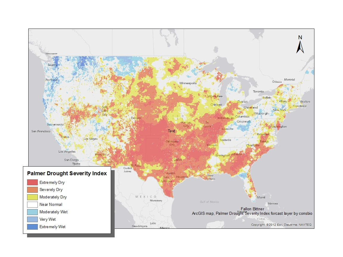 in relevance to the drought throughout the us and many other parts of the world we did a case study examining the relationship between crop yields and