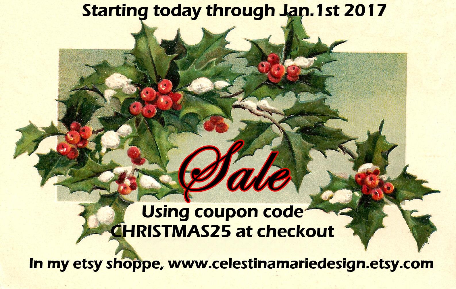 Christmas Sale, CHRISTMAS25