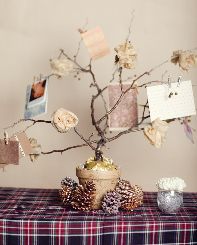 Ruche Wedding Wednesday Creative Lighting Ideas: Ruche: Homemade Holiday Spotlight: Paper Mache Vase