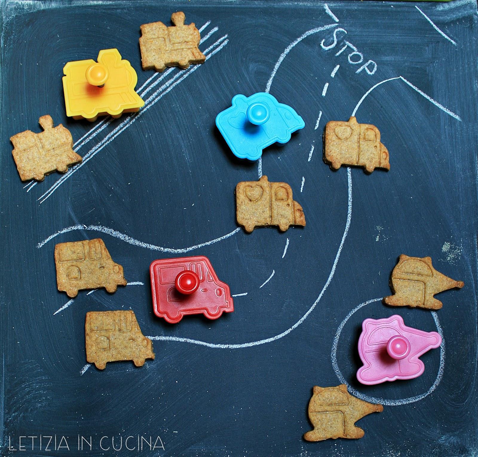 Letizia in Cucina: Biscotti di frolla al farro semintegrale