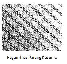Motif Batik Parang kusumo