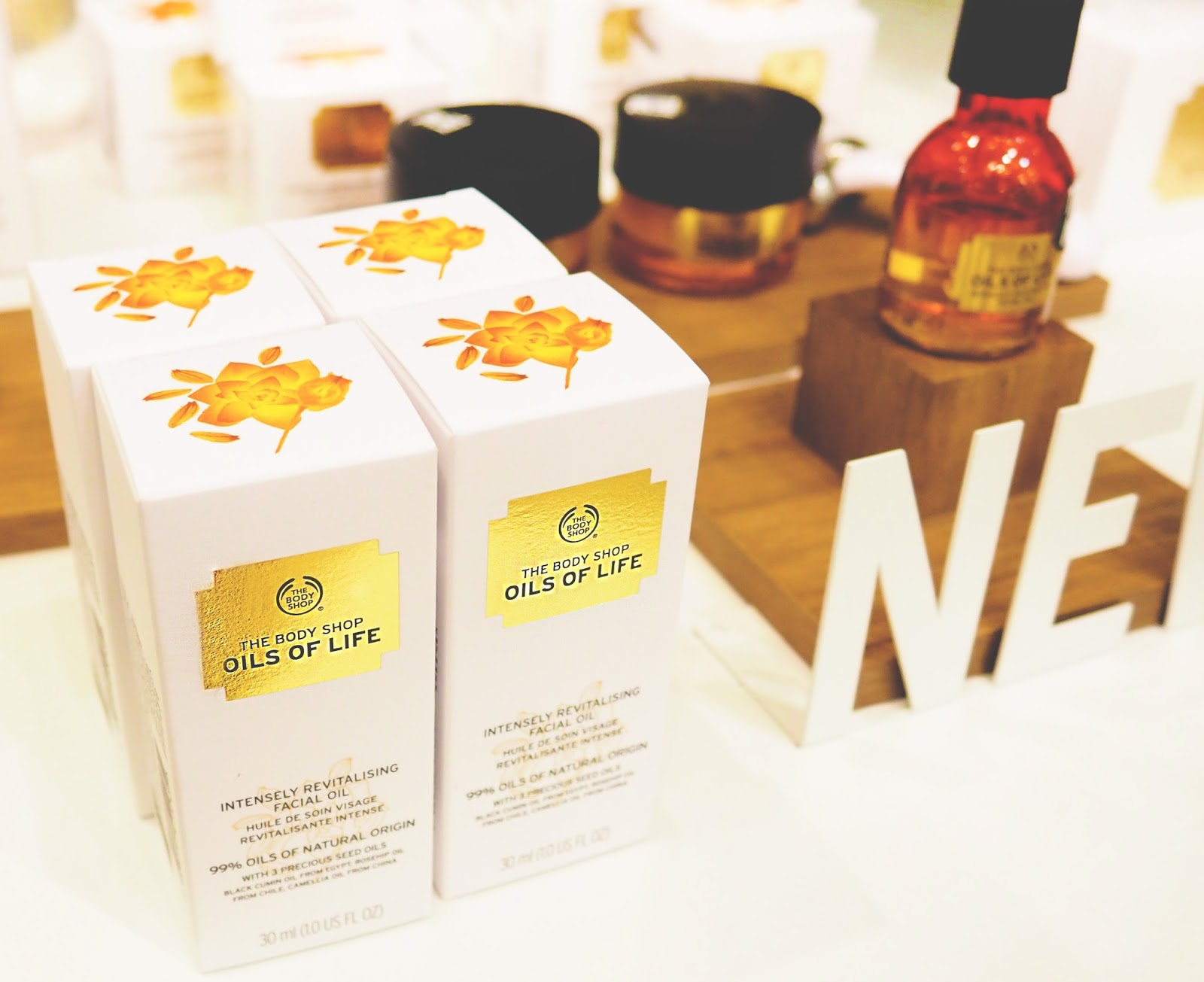 The Body Shop Leicester Oils of Life