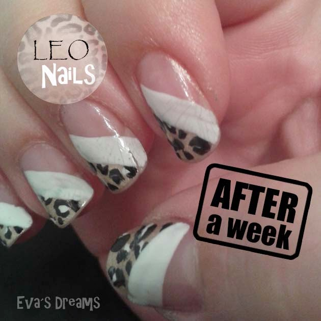 Nails of the week: After a week