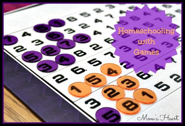 homeschooling with games