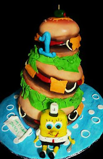 SpongeBob cakes for children parties