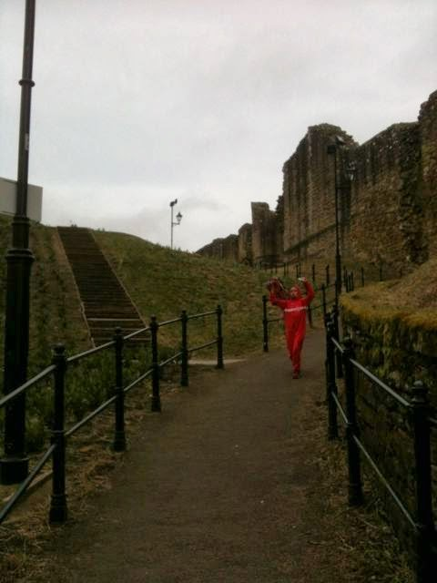 Running down from Barnard Castle
