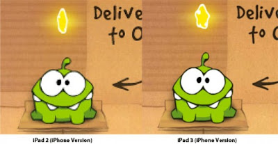 game Cut the Rope.