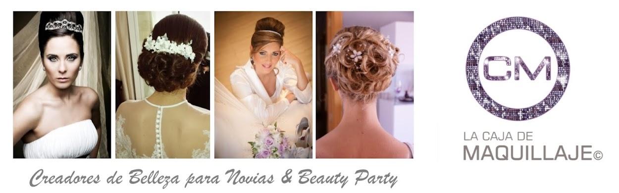 Maquilladores, estilistas de novias, organización de eventos, Beauty Party y despedidas de solteras.