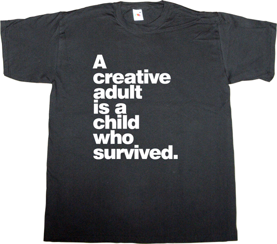creative creativity design designer brilliant sentence t-shirt ephemeral-t-shirts