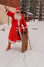 Joulupukki Tampere Pirkkala Lempäälä Kangasala Ylöjärvi palveluksessanne