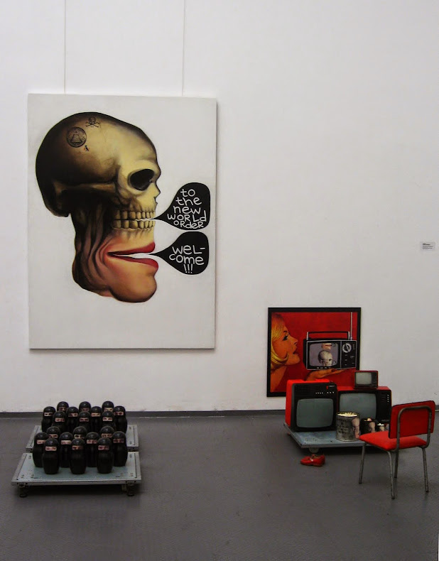 Welcome to the new world order Installation. Exhibition view, Rayko Aleksiev Gallery, Sofia 2010