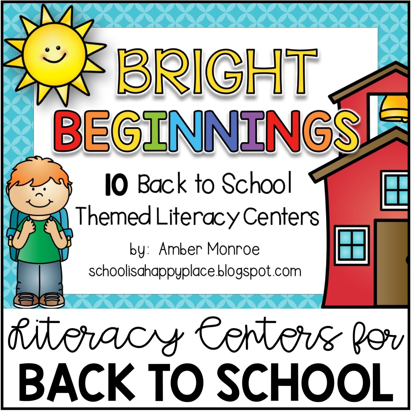 Literacy Centers for the Beginning of the Year