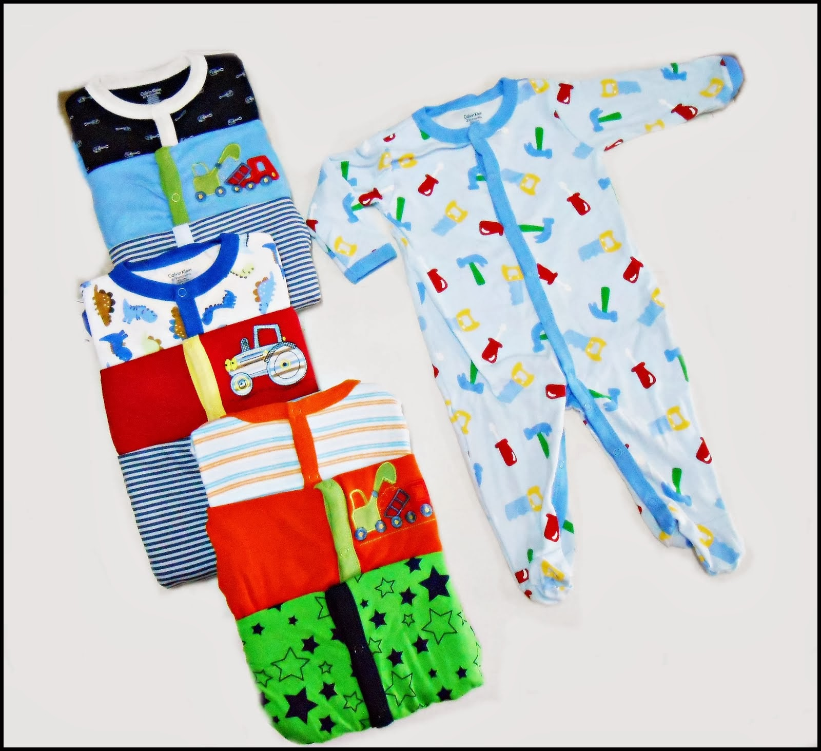 New Carter Series Romper , Ck sleepsuit