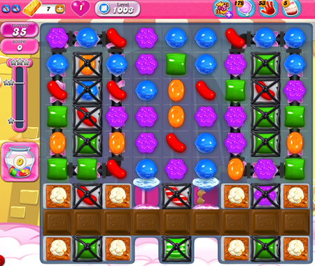 Candy Crush Saga 1003
