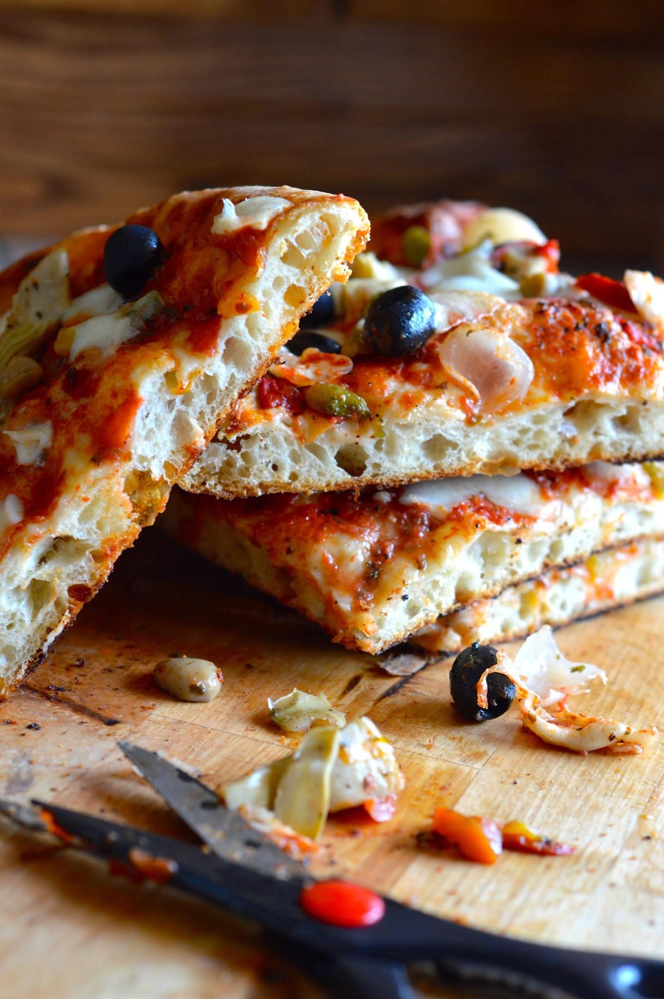Pizza con metodo Bonci
