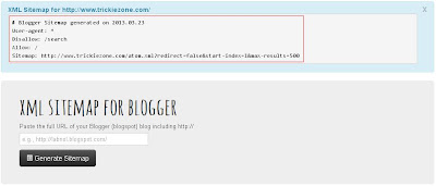 How To Add Google Sitemap To Blogger Blog