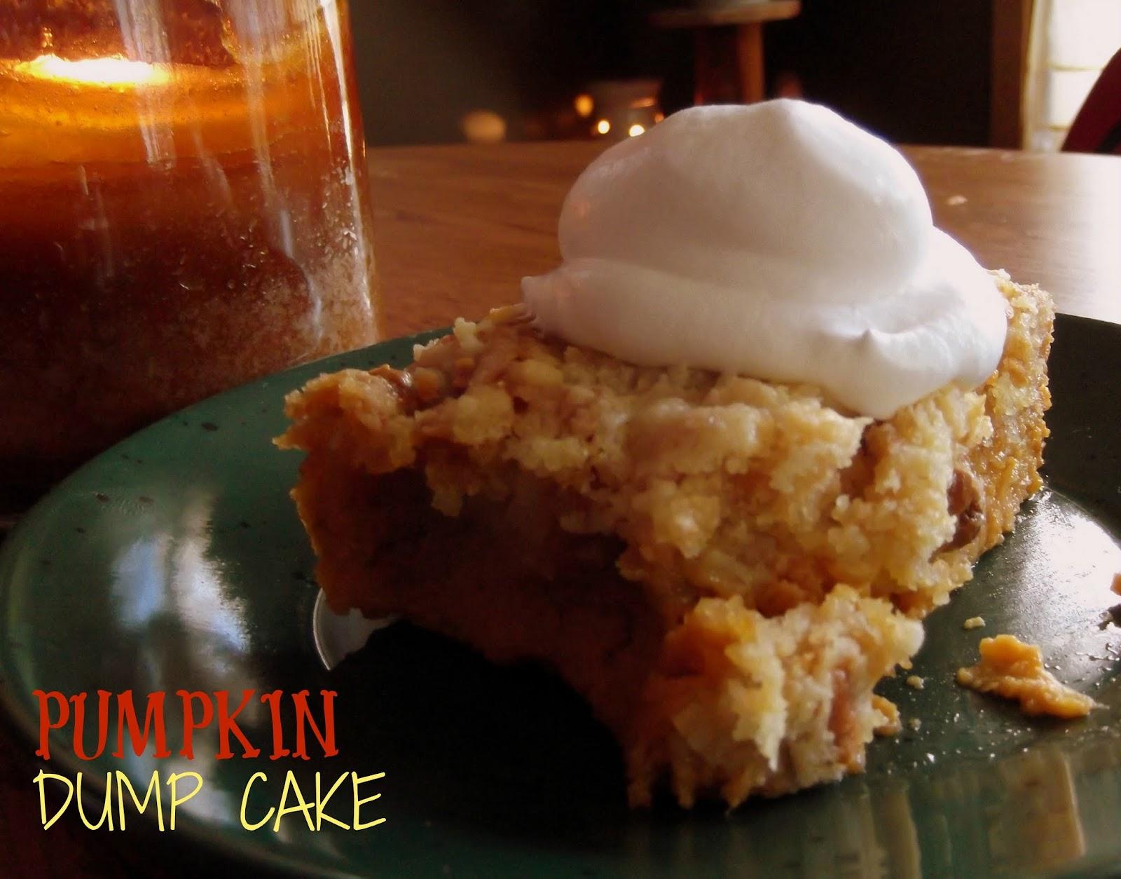 Yellow Cake Mix Pumpkin Dump